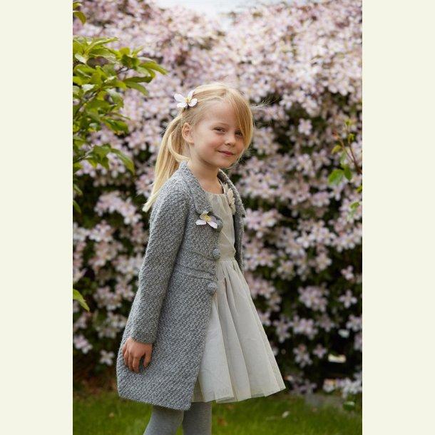 Strikkekit - Anna-Roses jakke fra CaMaRose. Str. 9 år.