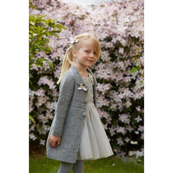 Strikkekit - Anna-Roses jakke fra CaMaRose. Str. 8 år.