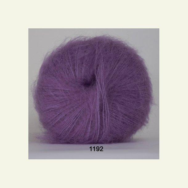 Hjertegarn - Silk Kid Mohair 1192 Lilla