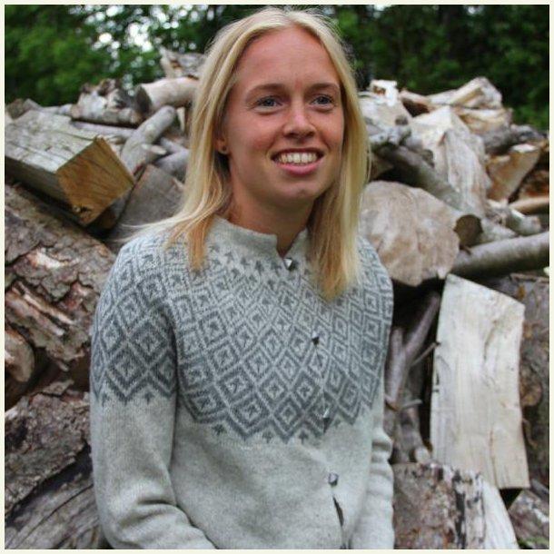 Strikkekit - Søster Line - Hanne Larsen. M-XL