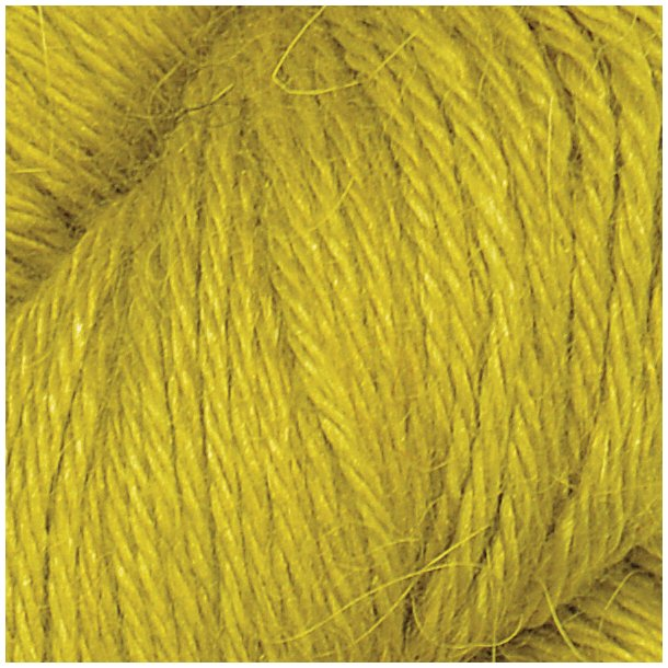 Llama silk Järbo Lime yellow 12219