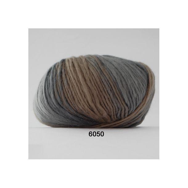 Hjertegarn - Incawool 6050 Beige/gråblå