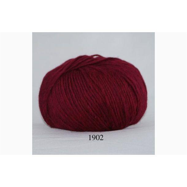 Hjertegarn - Incawool 1902 Mørk rød