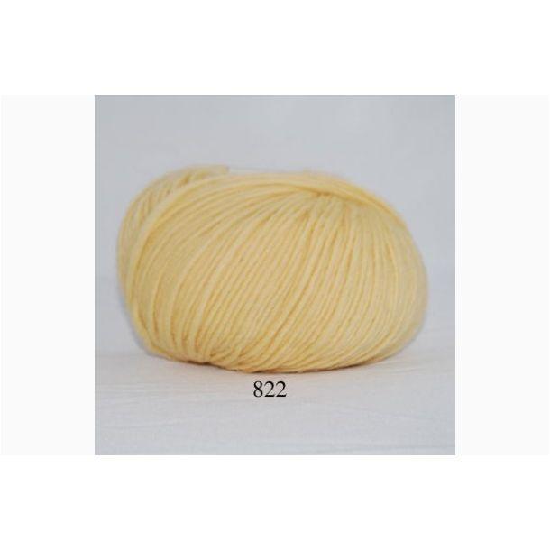 Hjertegarn - Incawool 822 Sart gul