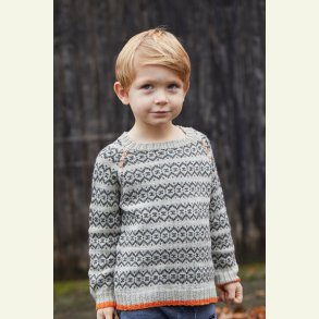 Strikkekit - Thors sweater fra CaMaRose