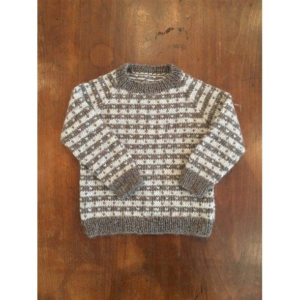 Strikkekit - Babysweater med lus fra CaMaRose. Str. 1-2 år