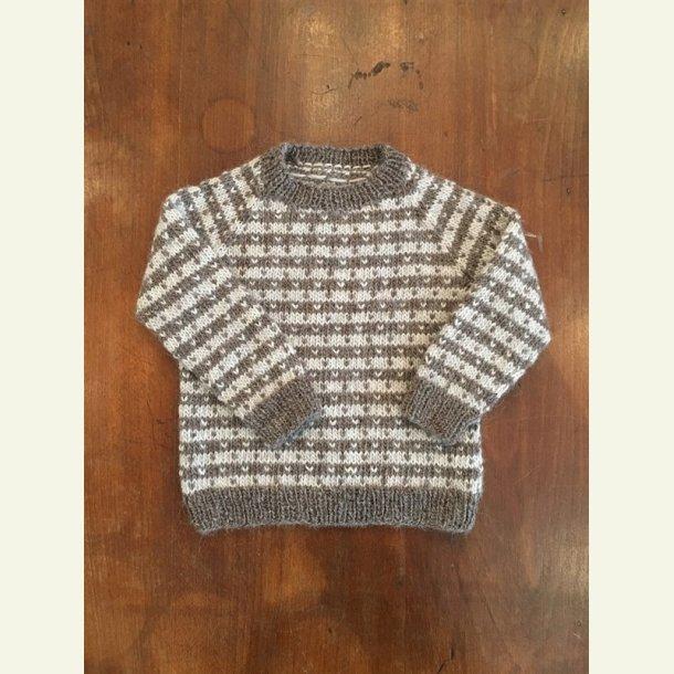 Opskrift - Babysweater med lus fra CaMaRose