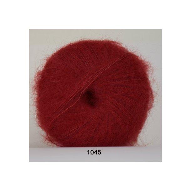 Hjertegarn - Silk Kid Mohair 1045 Rød